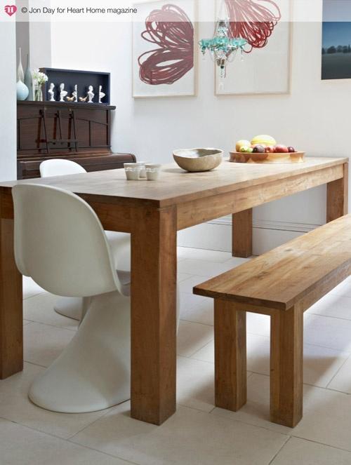 Casa Bela - Jantar com Banco Madeira (12)