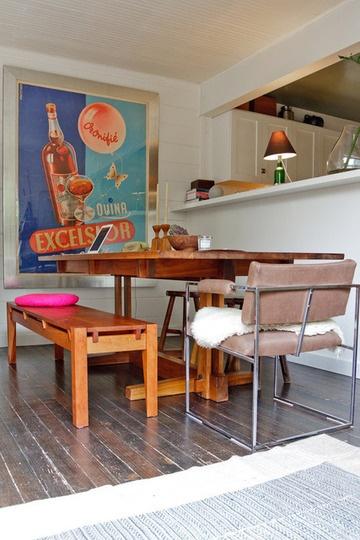 Casa Bela - Jantar com Banco Madeira (13)