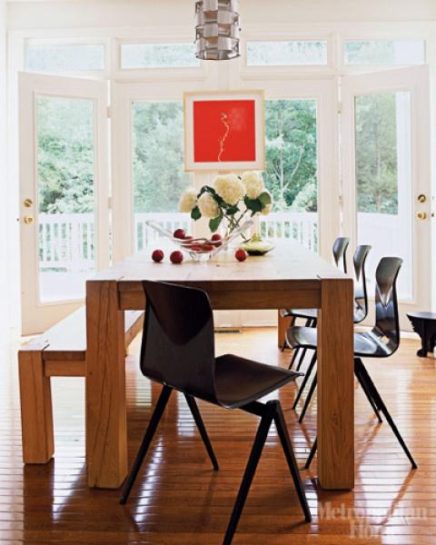 Casa Bela - Jantar com Banco Madeira (14)