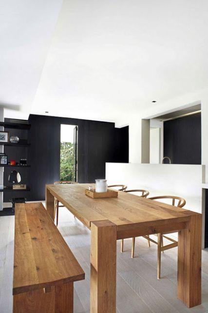 Casa Bela - Jantar com Banco Madeira (7)