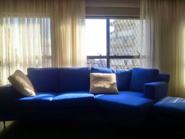Casa Bela - Sofá Azul